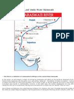 The Lost Vedic River Sarasvati