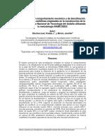 Evaluacion de Mezclas Asfalticas