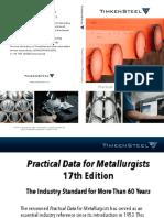 Practical Data for Metallurgists TimkenSteel