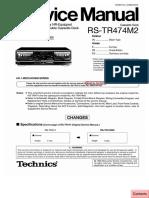 Technics Rs Tr474m2 e Eb Eg Sm