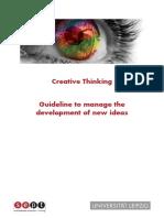 SEPT - Creativ Thinking