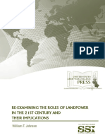 Re-examining the Roles of Landpower in the 21st Century and Their Implications