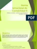 Normas Internacionales de Contabilidad  8