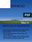 Types of Overheads