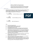 Safety Relief Valve Sizing Equations