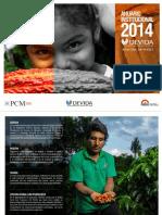 Anuario Institucional 2014 – Oficina Zonal San Francisco