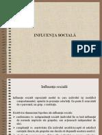 Influenta Sociala