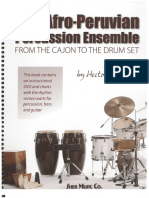 Afro Peruvian Percussion Ensemble