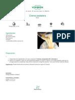 Crema pastelera - 2011-09-28