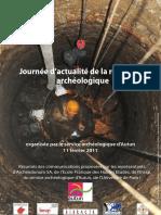 Journée Archéologiques Autun 2011