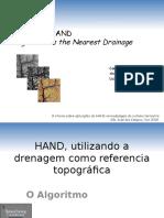Algoritmo Hand Height Above the Nearest Drainage