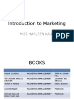 01 Introduction to Marketing 2015