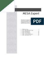 Mesa Expert Training Manual Expert
