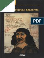 Cogito Dergisi, Sayı 10 - Cogito, Öyleyse Descartes.pdf