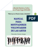 Manual para Motivadores Voluntarios por las Artes