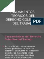 Fundamentos Teoricos Del Derecho Colectivo Al Trabajo I
