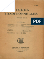 Etudes Traditionnelles v41 n202 1936 Oct