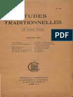Etudes Traditionnelles v41 n193 1936 Jan