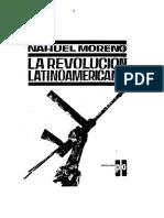 Nahuel Moreno La Revolución Latinoamericana 1962