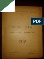 Memoria y Balance COA, 1956-57