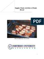 Report on Supply Chain Activities of Rank Bread