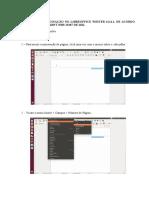 Paginação No LibreOffice NBR-15287