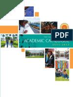Academic Catalogue