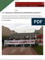 TPP Amenaza La Existencia de Medicamentos Genéricos El Desconcierto