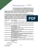 DS 058-2003-MTC - Reg Nac de Vehículos