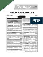 RM 480-2008 Aprueban Listado de Enfermedades Profesionales