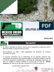 Datos Sobre Delitos en Mexico