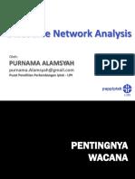 Pengantar Discourse Network Analysis