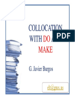Do and Make Collocations