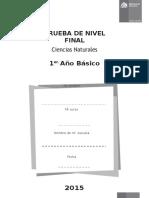 Ciencias Naturales 1Básico Diagnóstico1