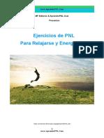 Ejercicios de PNL Para Relajarse y Energizarse!- AprenderPNL