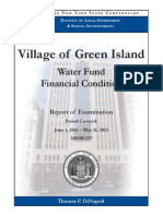 Green Island state comptroller audit