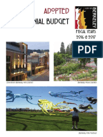FY 2016 & FY 2017 Final Adopted Biennial Budget Book