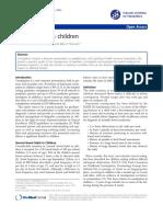 Constipation in Children Journal