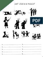 Trabajos y ocupaciones en español