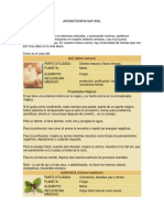 Aromaterapia Natural.