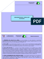 DESHIDRATACION  DE HIDROCARBURO