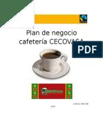 Plan de Negocio Cafeteria