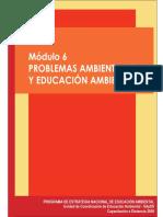 Problemas Ambientales y educación ambiental