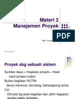 Manajemen Proyek 2_2015