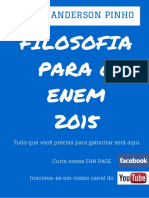 Filosofia Para o ENEM 2015