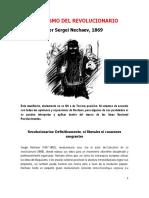 Sergei Nechaev - Catecismo Del Revolucionario