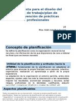 Propuesta Para El Diseño Del Plan de Trabajo