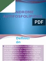 Vii. Síndrome Antifosfolípidos