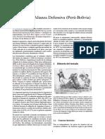 Tratado de Alianza Defensiva (Perú-Bolivia)