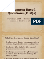 dbq department presentation